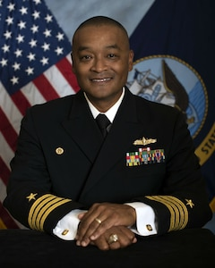 Capt. Derrick E. Blackston, NAVSEA Chief of Staff