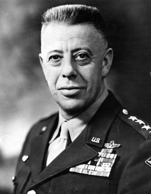 This is the official portrait of Gen. George Kenney.