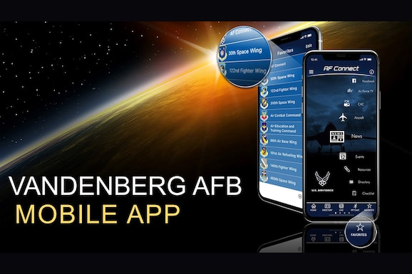 Graphic of Vandenberg mobile app