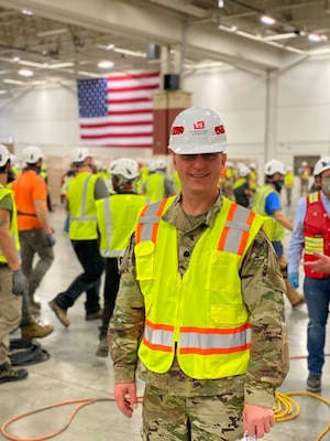 How an Army Reserve engineer supports COVID-19 response efforts