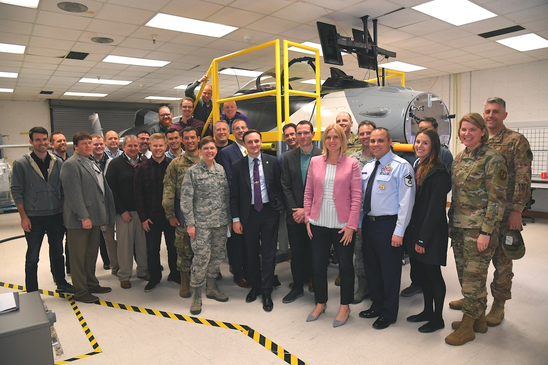 Kubernetes (K8's) demo 7 Nov 2019 in F-16 SIL at Hill AFB.
