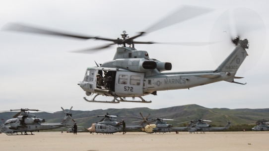 Vipers and Venoms take off from MCAS Camp Pendleton