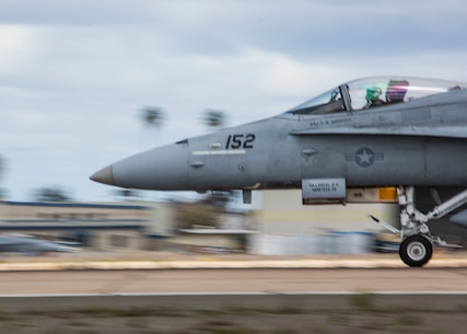 Hornets and Hercs take off from MCAS Miramar