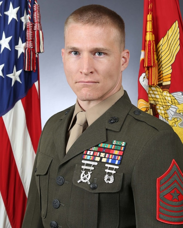 Sergeant Major Glenn R. Ray, Combat Logistics Battalion-24 sergeant major