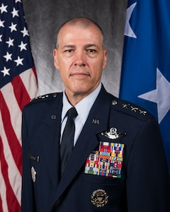 Official photo of USSTRATCOM Deputy Commander