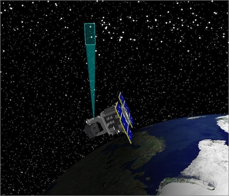 A Digital Directorate team at Peterson Air Force Base, Colo., used an emulation tech refresh process to ensure reliability for space domain awareness. (U.S. Air Force graphic)