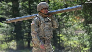 1st Cavalry Division improvised Bangalore training in Grafenwöhr, Germany