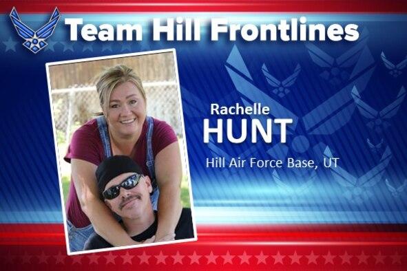 Team Hill Frontlines: Rachelle Hunt