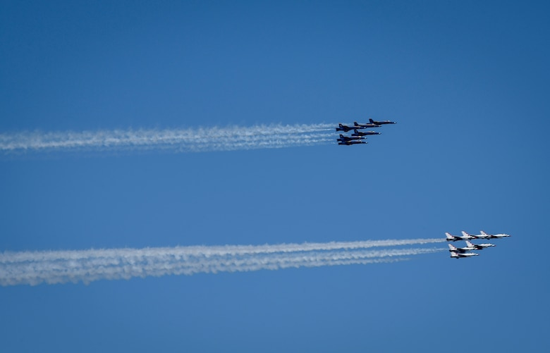 America Strong: Thunderbirds, Blue Angels Salute New Jersey COVID-19 Responders