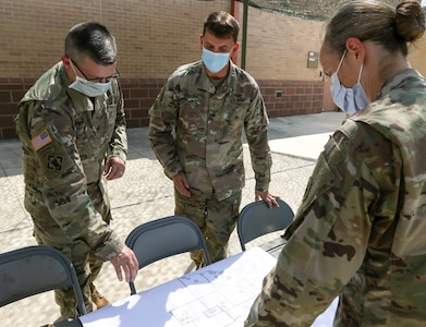 4th ESC leaders engaged in the COVID-19 fight