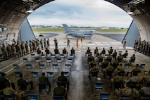 Twenty-two Airmen were recognized as Dedicated Crew Chiefs during a ceremony on the flightline at Misawa Air Base, Japan, July 31.