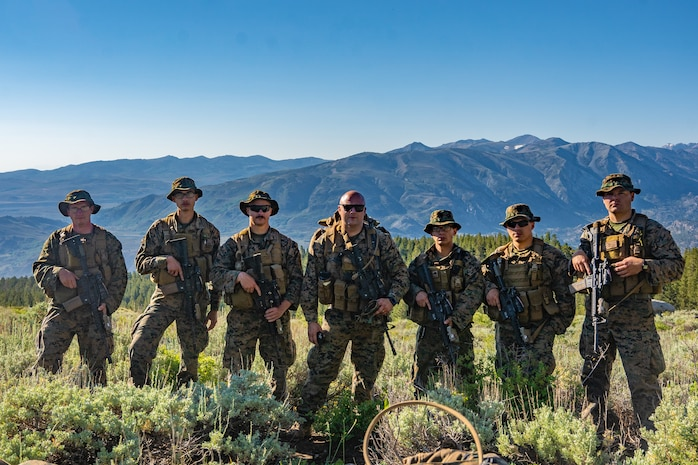 Next 4th Recon, E Co Participate in a Modified Mountain Training Exercise