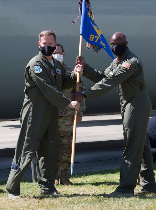Passing of the guidon