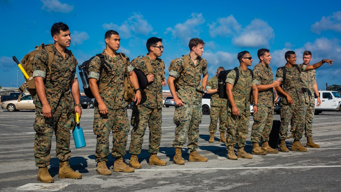 Task force US Marines land in Honduras