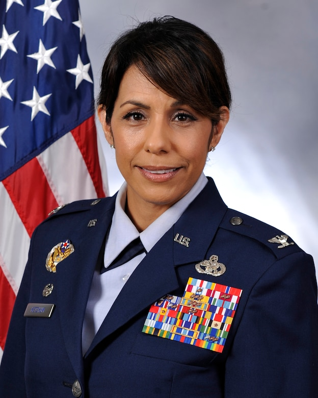 U.S. Air Force Col. Janette D. Ketchum, 87th Mission Support Group commander.
