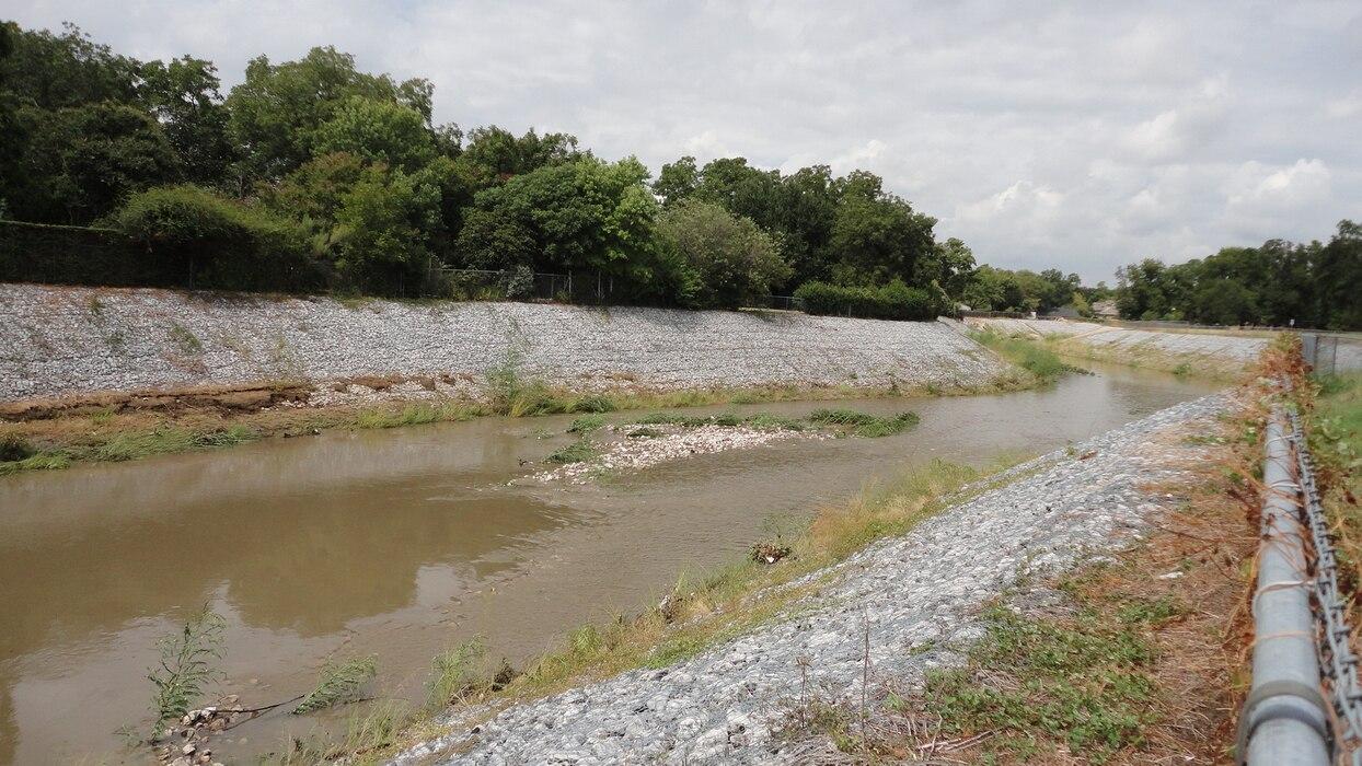 Johnson Creek at Grand Prairie, Flood Risk Management Project.
