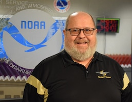 Scott Gibbon, a meteorologist in the Chief, Aerial Reconnaissance Coordination All Hurricanes team. (courtesy photo)