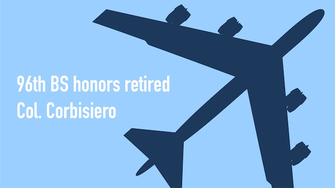 96th BS Honors retired Col. Corbisiero