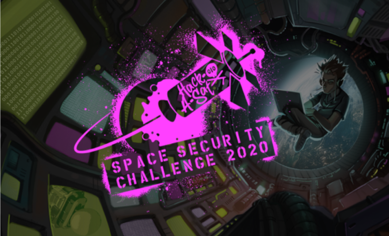 "On August 7-9, the Department of the Air Force and DoD's Defense Digital Service will premiere the Space Security Challenge 2020, a mixture of virtual workshops and prize challenges related to securing space systems, including a live Capture-The-Flag (CTF) style satellite hacking competition dubbed ""Hack-A-Sat."" (Courtesy illustration)"