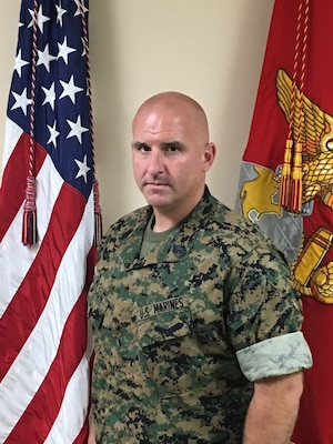 First Sergeant, Mike Battery, 3rd Battalion, 14th Marine Regiment