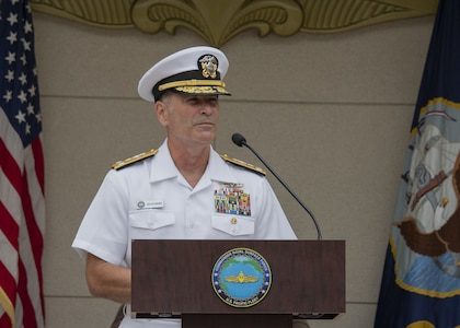 Kitchener Assumes Command of Pacific Fleet Surface Force