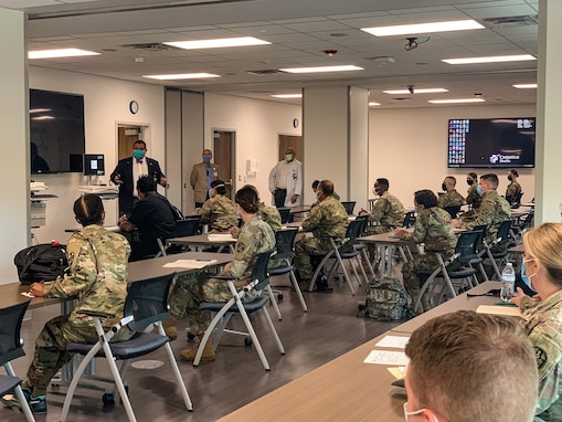 Soldiers prepare to support Corpus Christi hospital