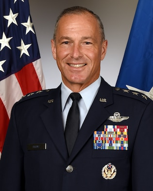 This is the official portrait of Lt. Gen. Scott L. Pleus.