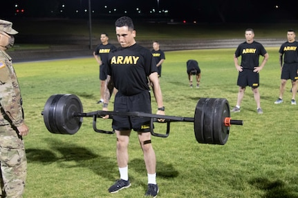 Twelve Soldiers from the Western United States and Guam exhausted themselves physically and mentally over three blisteringly hot days at Camp Williams, July 28-30, to be named the Soldier and Noncommissioned Officer of the Year during the 2020 National Guard Region VII Best Warrior Competition
