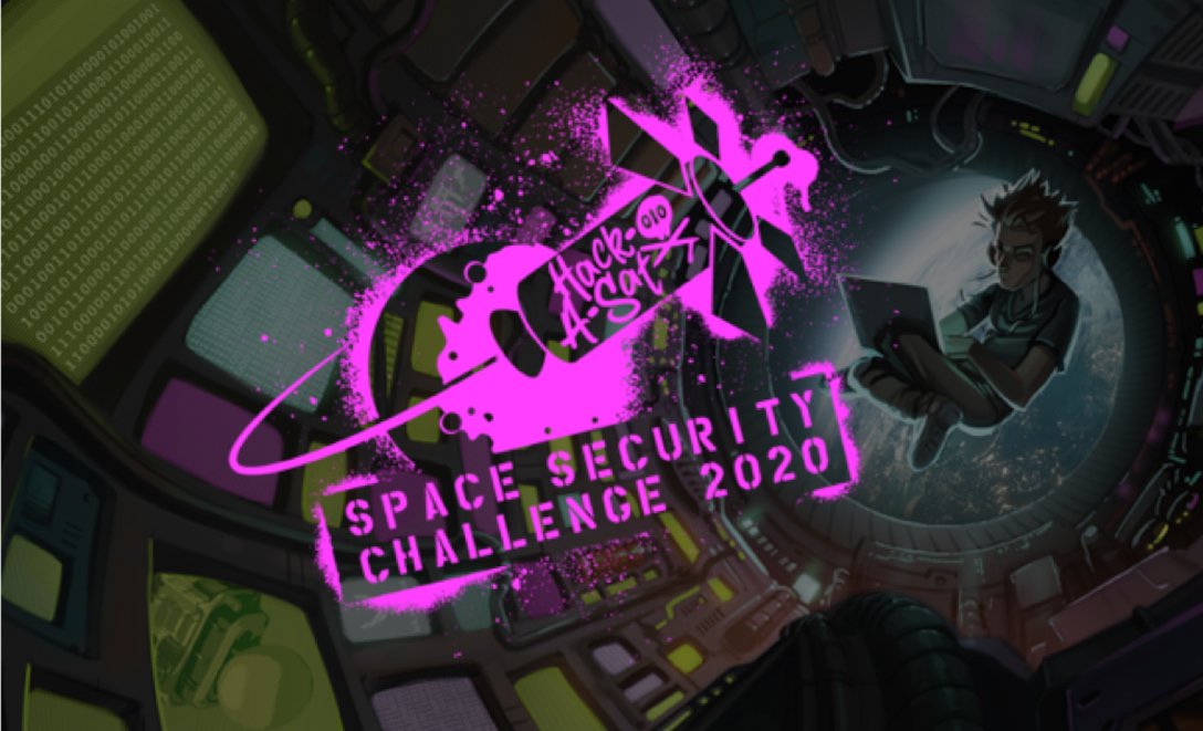 """On August 7-9, the Department of the Air Force and DoD's Defense Digital Service will premiere the Space Security Challenge 2020, a mixture of virtual workshops and prize challenges related to securing space systems, including a live Capture-The-Flag (CTF) style satellite hacking competition dubbed """"Hack-A-Sat."""" (Courtesy illustration)"""