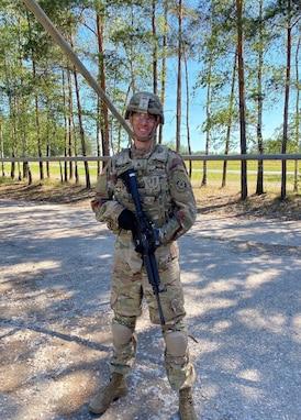 2CR Soldier Spotlight: Sgt. Benjamin Weston