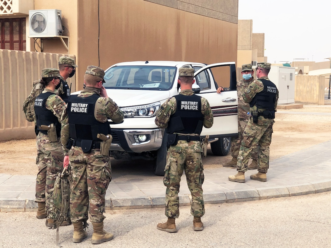 Army Reserve MPs deployed to the Kingdom of Saudi Arabia certify to enforce the law