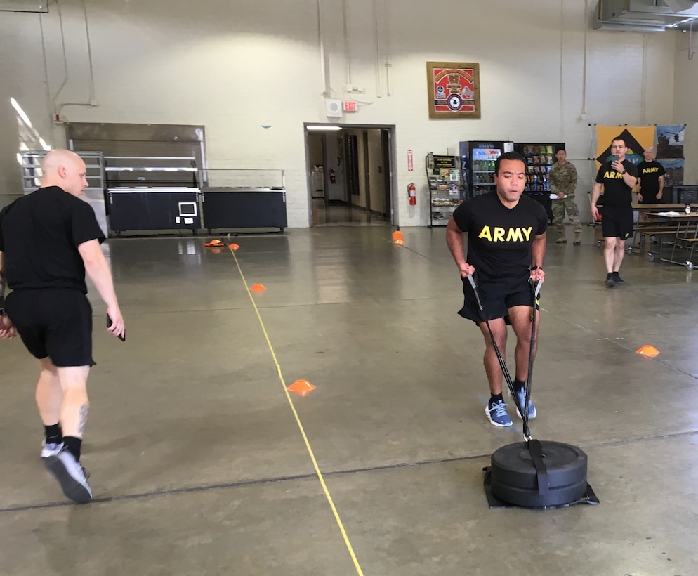 311th ESC conducts ACFT training