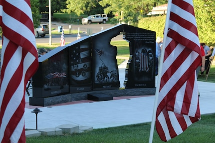 The focus of the memorial is to preserve the memory of fallen service members and allow their families some degree of closure and perhaps some comfort in knowing the community hasn't forgotten them.