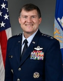 This is the official portrait of Lt. Gen. Cliton Hinote.
