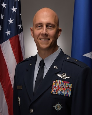Photo of U.S. Air Force Brigadier General Joshua M. Olson.