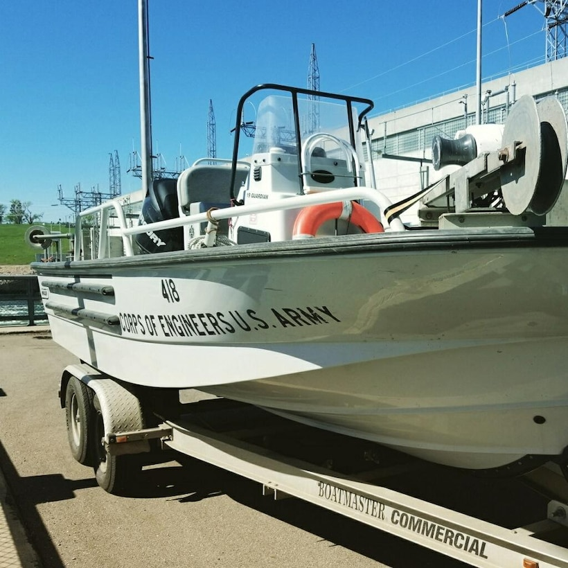 Water Quality Management Branch's work boat