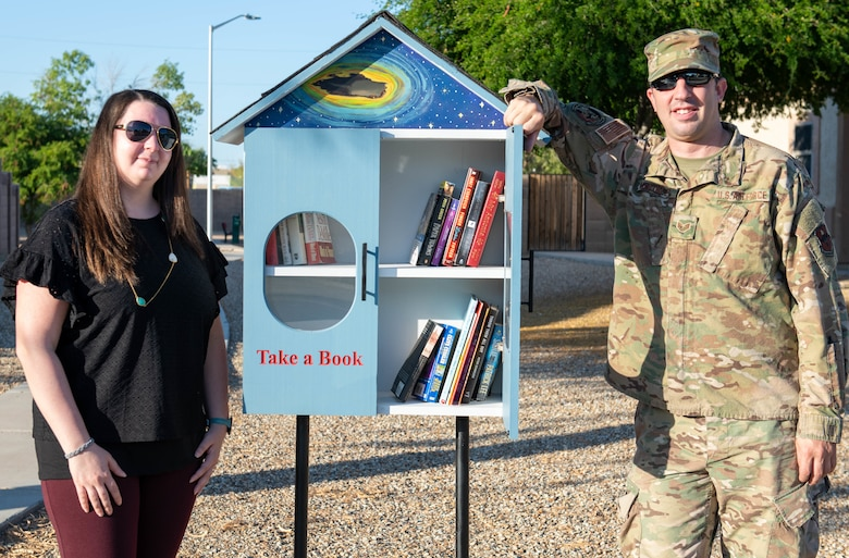 Military community launches second loaner library