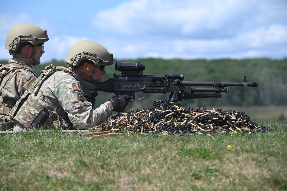 N.D. Air Guard fires weapons for training at Camp Ripley Training Center