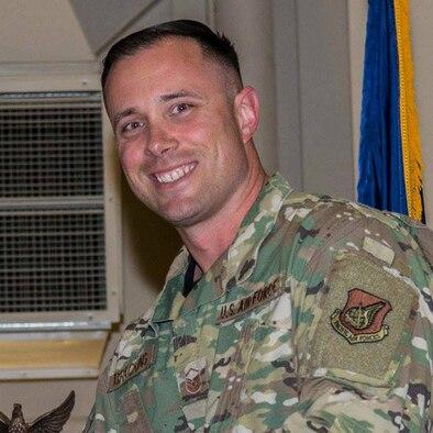 U.S. Air Force Master Sgt. Jason Brackins
