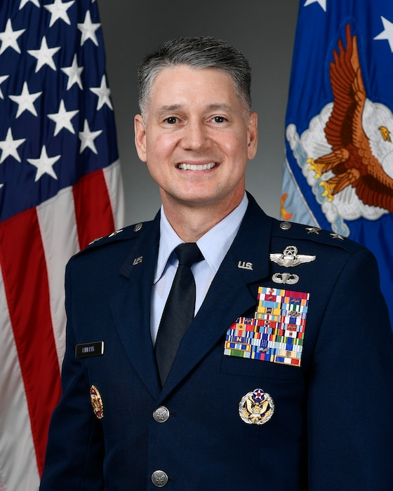 This is the official portrait of Maj. Gen. Christopher Finerty.