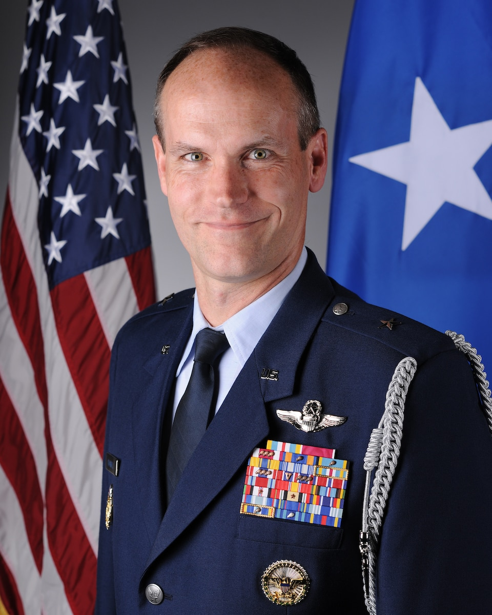 Brig. Gen. Jefferson J. O'Donnell official photo
