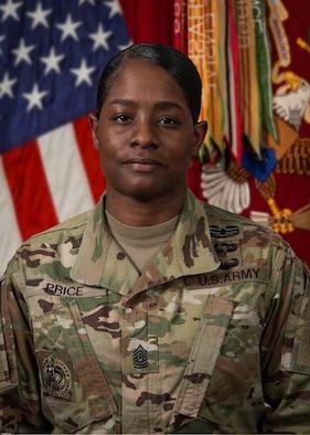 Command Sergeant Major Cassandra Price official photo