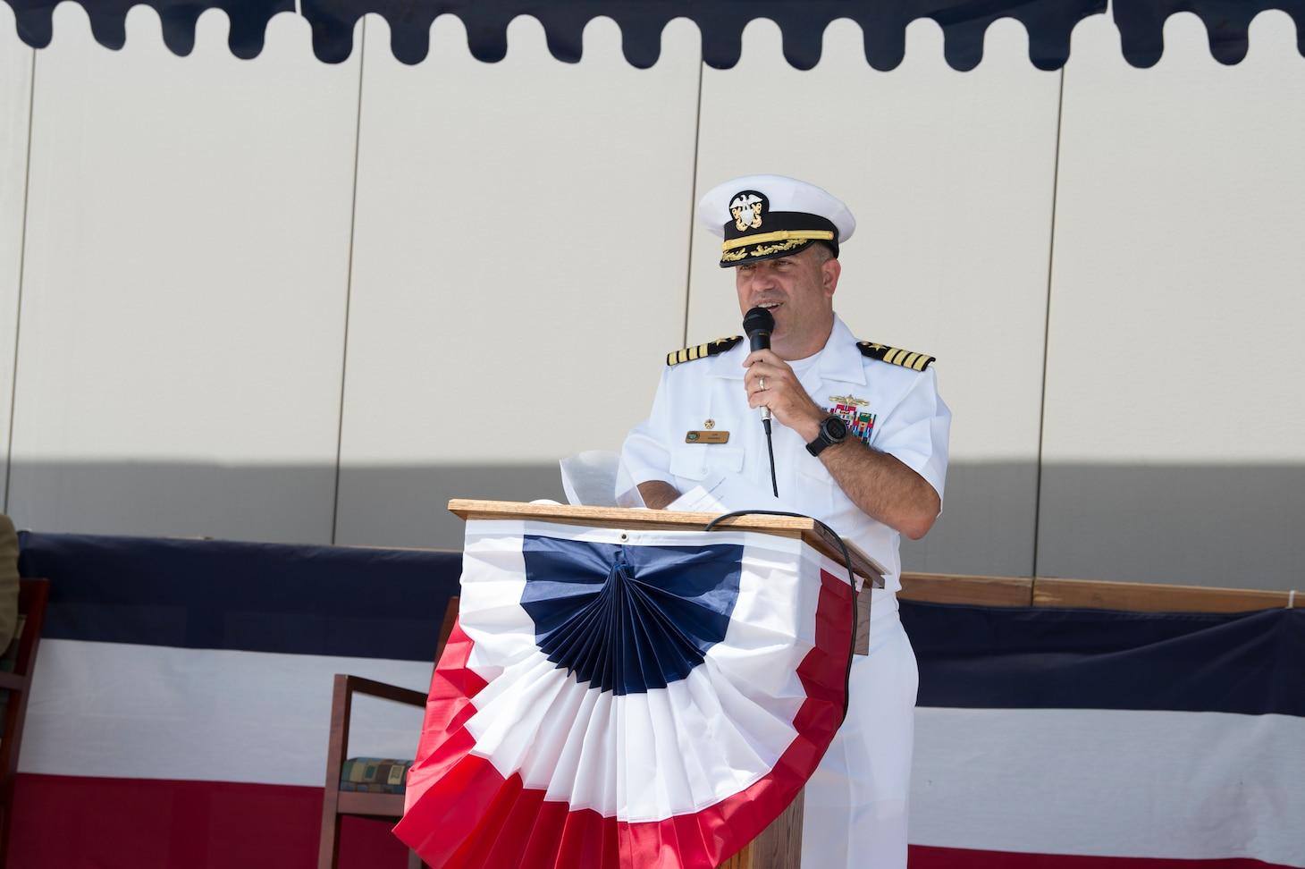 AEGIS Ashore Change of Command