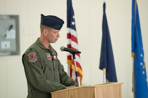 photo of change of command ceremony