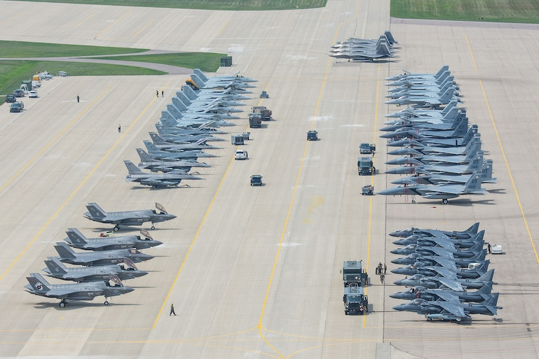 A variety of the world's most advanced aircraft have assembled at Volk Field Combat Readiness Training Center in Wisconsin for the joint accredited exercise Northern Lightning 2 exercise Aug. 10-21.