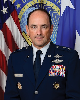 This is the official portrait of Maj. Gen. Kevin Kennedy.