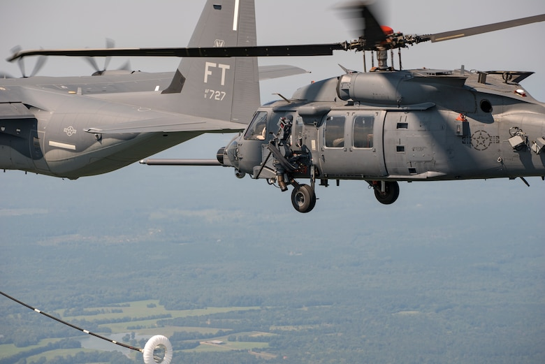 Jolly Green II begins aerial refueling tests