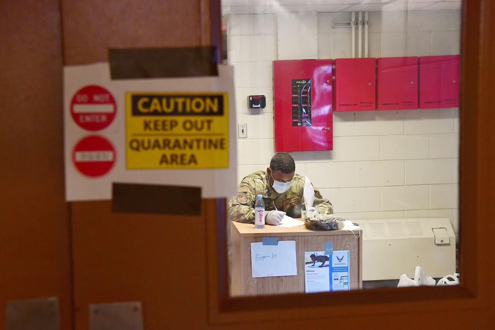 ADL's safeguard inbound quarantine Airmen