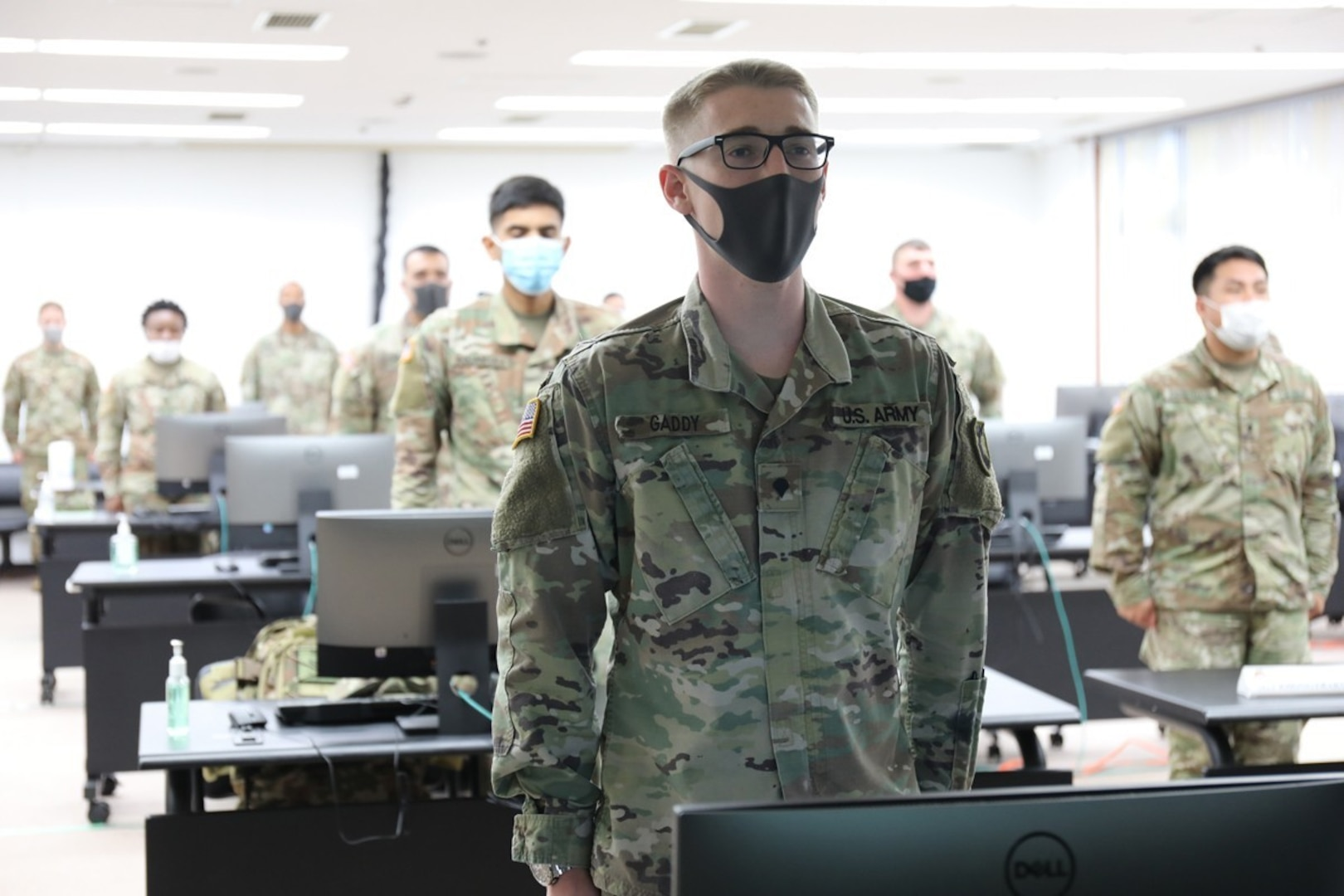 20 future NCOs graduate from distance-learning Basic Leader Course at Camp Zama
