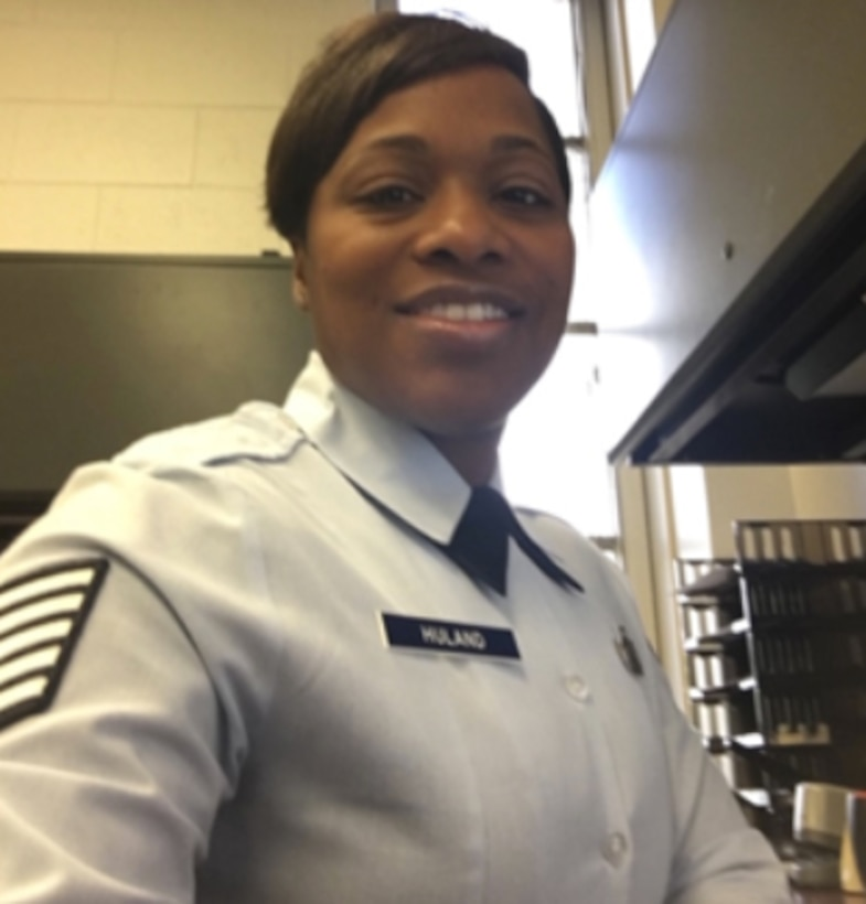 Tech. Sgt. Yolanda M. Huland, 15th Wing Comptroller Squadron budget analyst, shares her experience as a Black Airman in the U.S. Air Force. (U.S. Air Force courtesy photo)